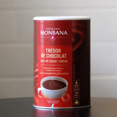 French Monbana Tresor Chocolate Powder