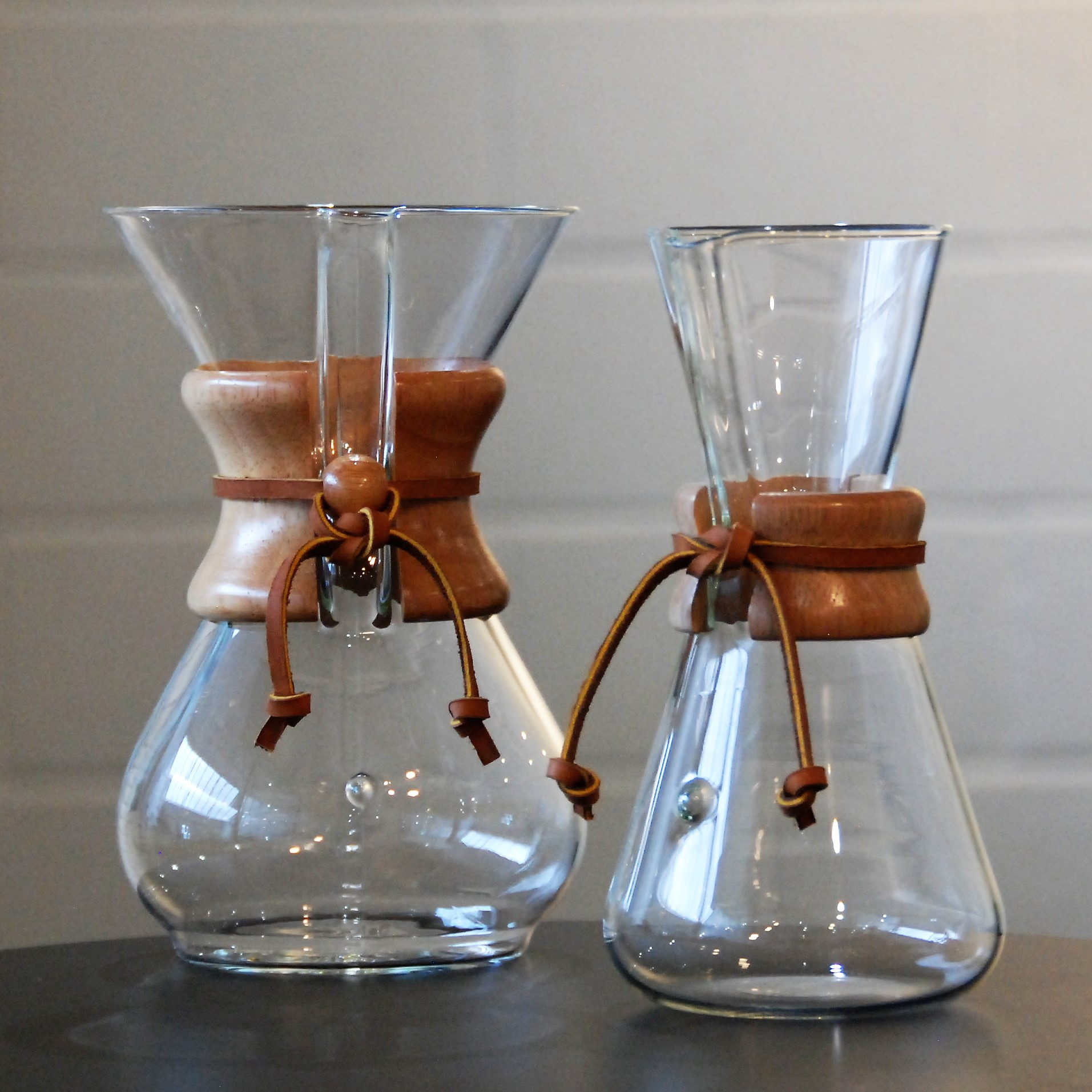 WOODNECK-CHEMEX BREWER
