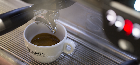 Home page - James Gourmet Coffee