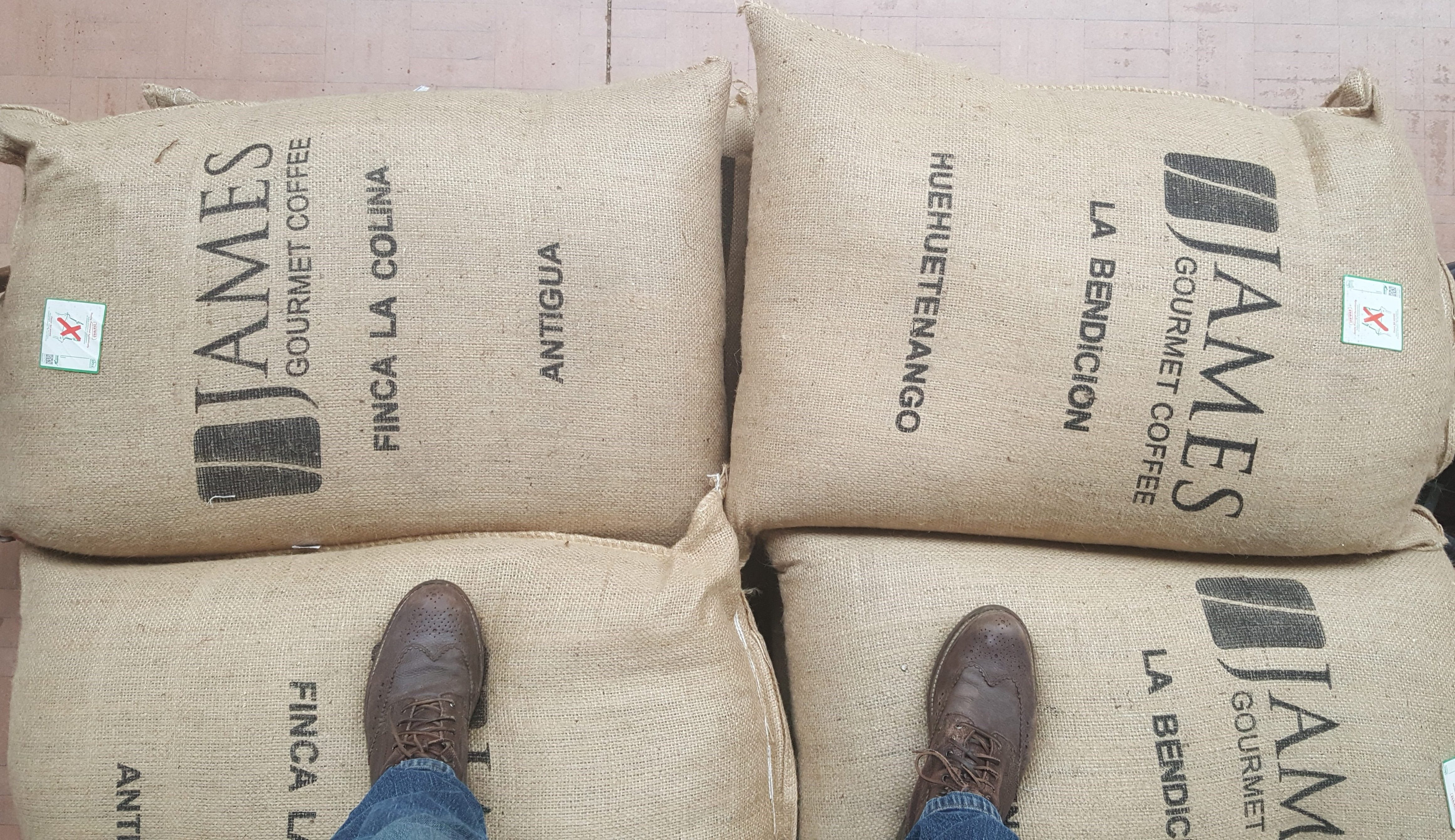 Guatemala 2018 COFFEE CROP ARRIVAL
