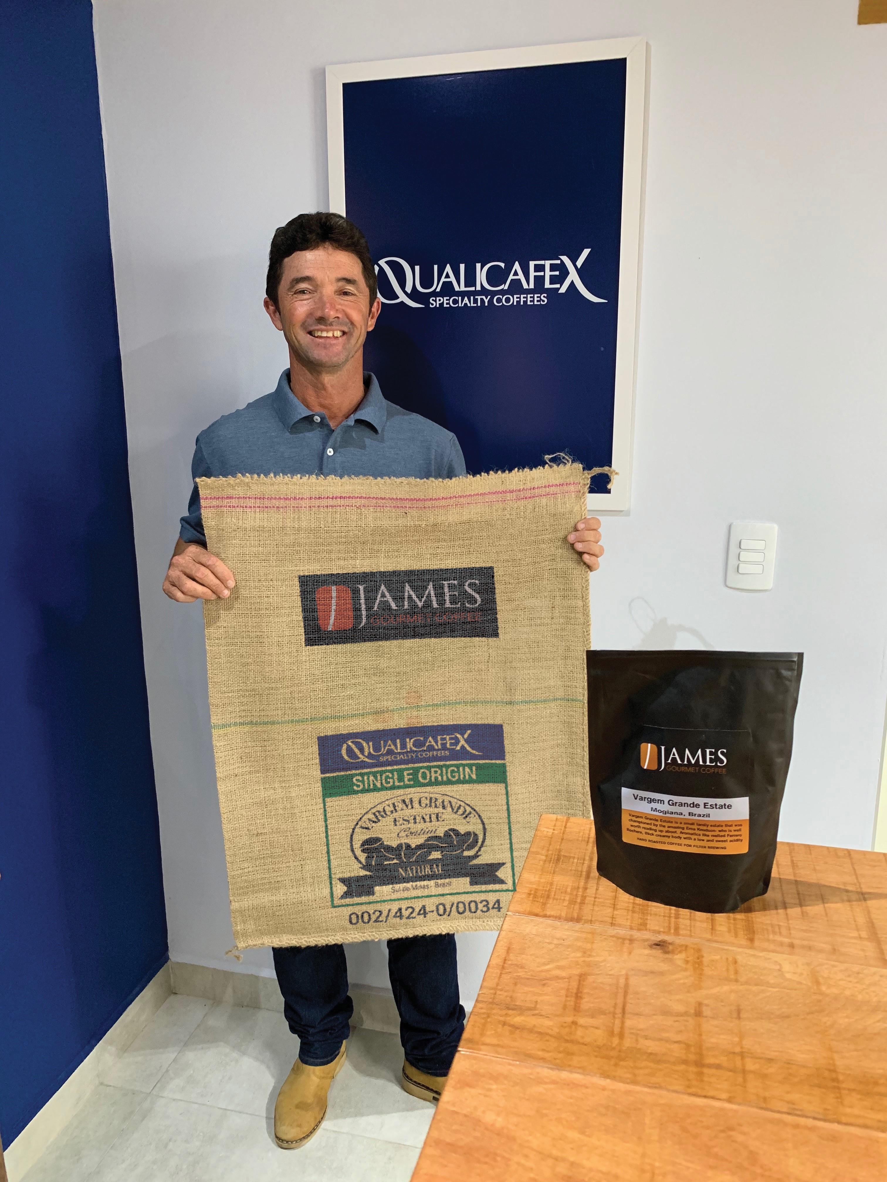 Vargem Grande Estate coffee- Dinho Contini