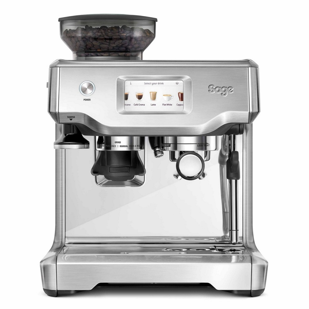 Sage Barista Touch coffee machine in Brushed Stainless Steel