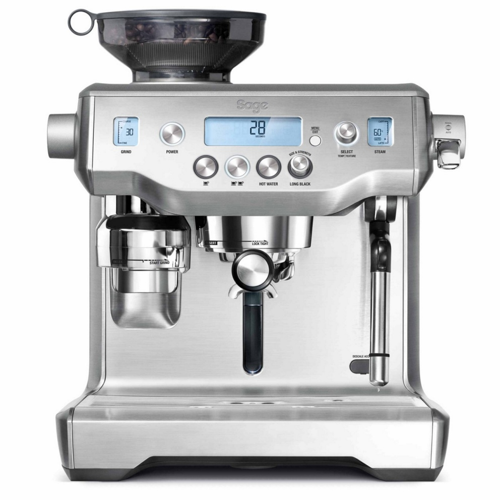 Sage Oracle in Brushed Stainless Steel COFFEE MACHINE