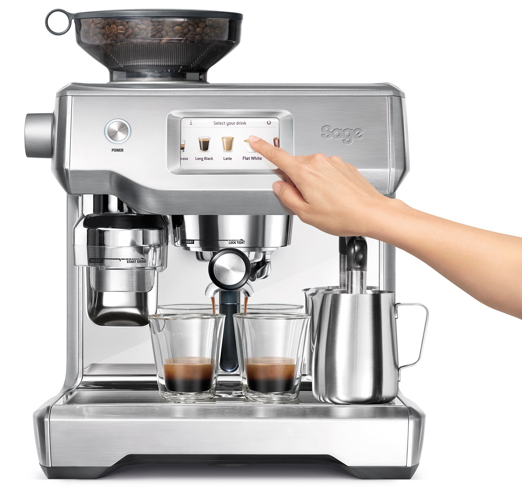 SAGE ORACLE TOUCH-COFFEE MACHINES