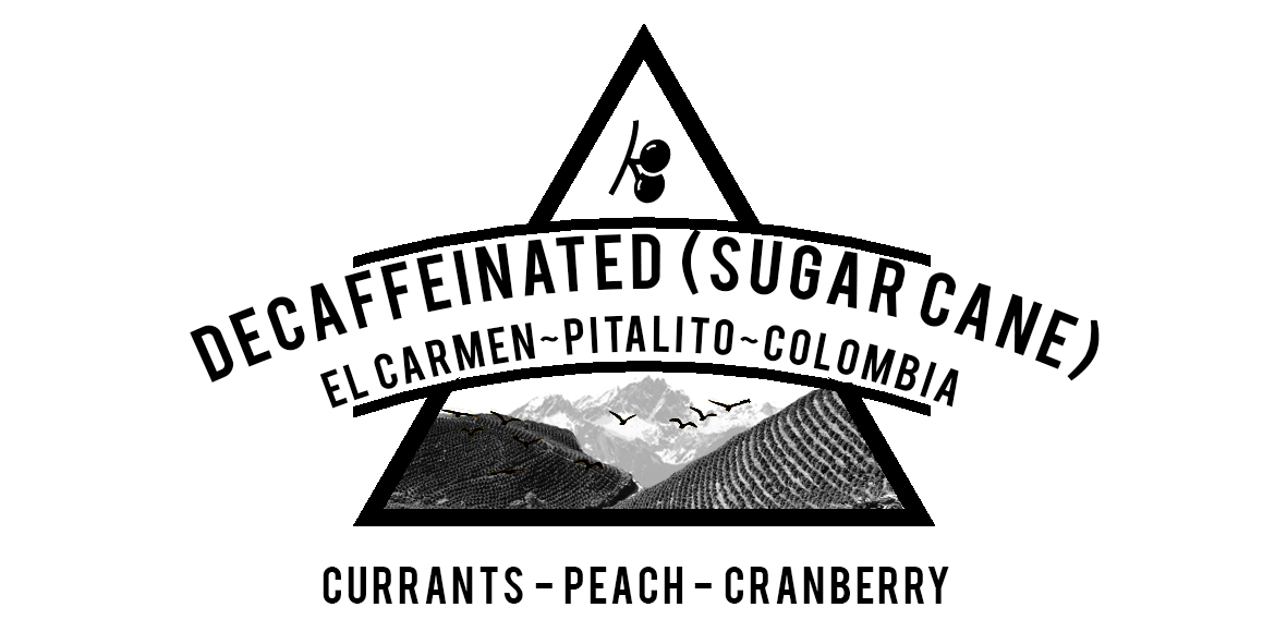 COLOMBIA DECAFFEINATED EL CARMEN COFFEE