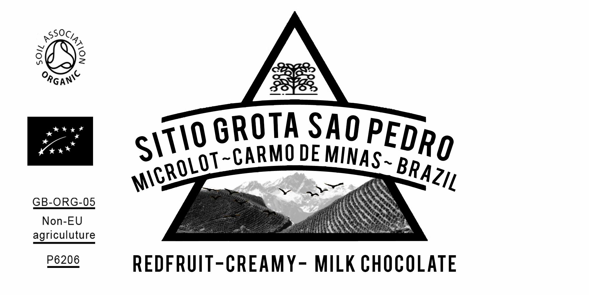 Organic Sitio Grota Sao Pedro Microlot Brazil Coffee