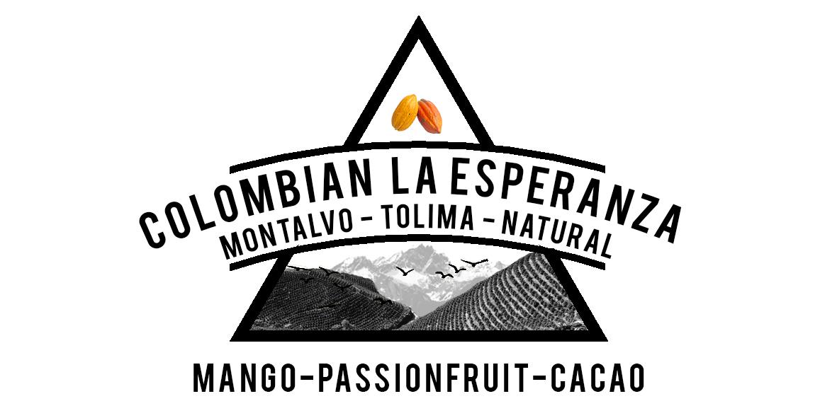 Colombian La Esperanza natural process