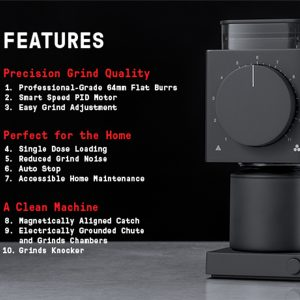 Features of The Ode Grinder