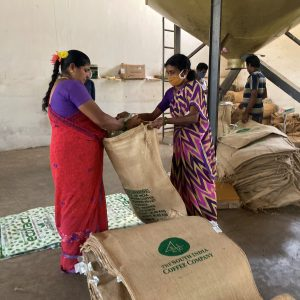 Coffee's being packed for Exports