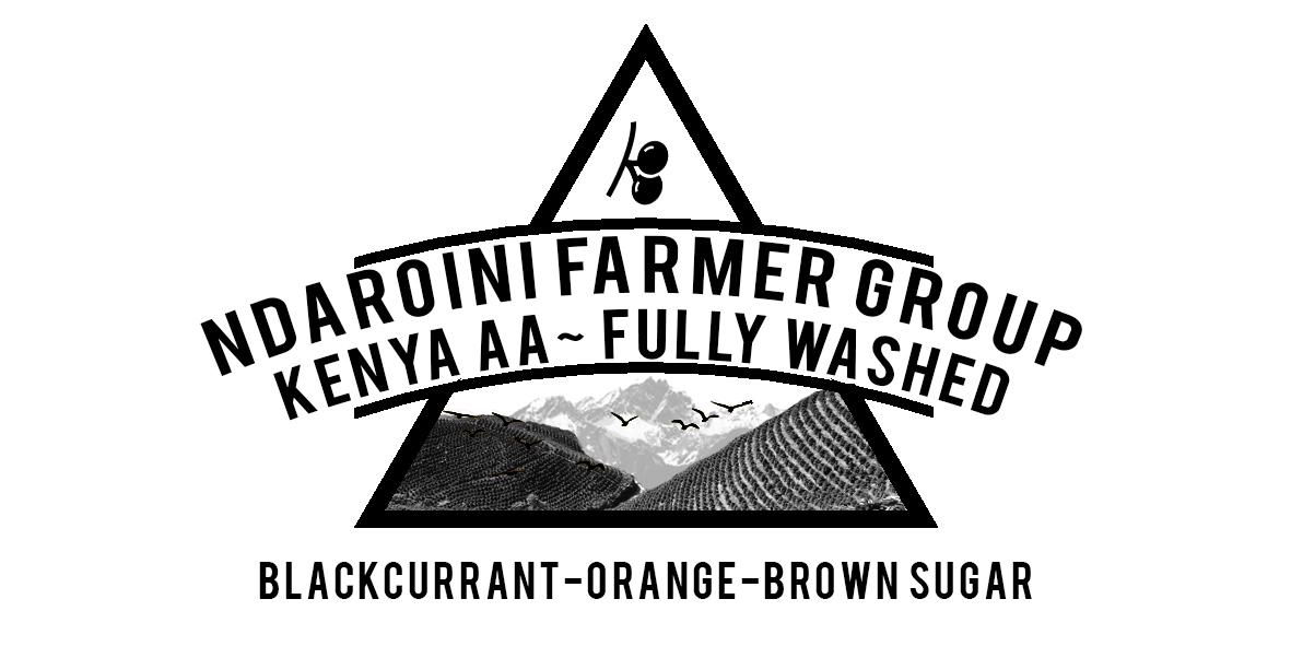 Kenya Ndaroini Coffee farmers Group.