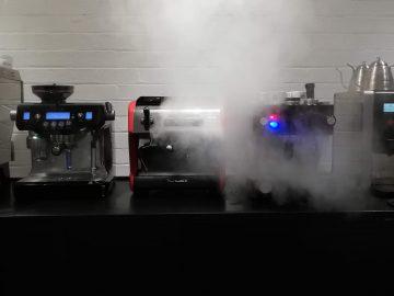 Espresso machines for home, La Marzocco, La Spaziale and or a Sage machine.