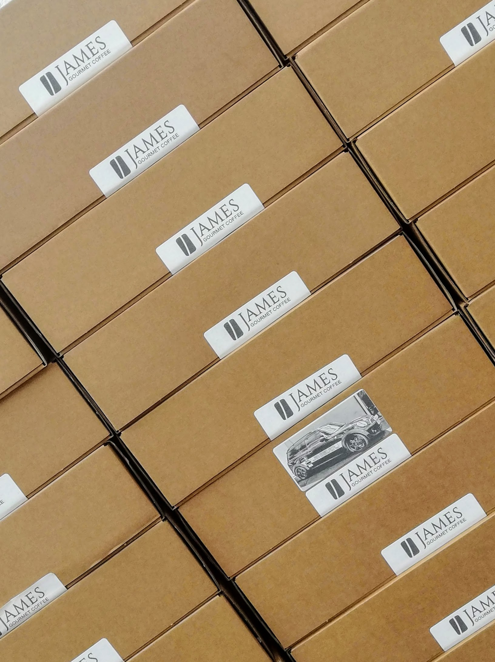 James Gourmet Post Boxes