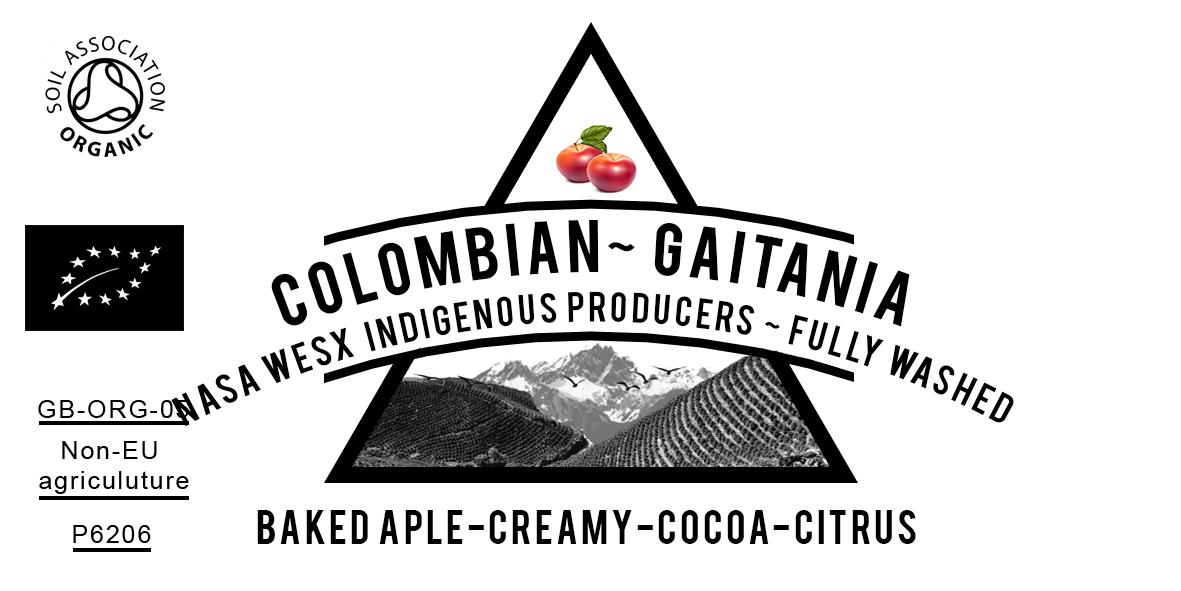 ORGANIC COLOMBIAN GAITANIA