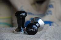 James Gourmet Coffee tampers.