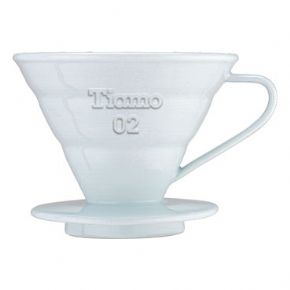 White 2 cup V 60
